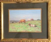 Kor i hage (Dixon Clark)