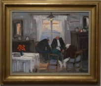 Tankestund i finrummet (Åke Wickström)