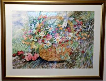 Blomsterkorg (Ulrika Hytting)
