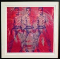 Elvis/Warhol (Ralfs Artz)