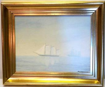 Segelfartyg till havs (Rolf Berntsson)