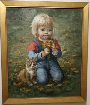 Lill-pelle med katten Oskar (Inga Bursell)