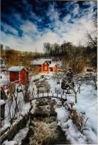 Snö bro