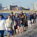 Water Walk- An Art Performance Walk/beginning (2018) photo: Noak Haugen Konrad