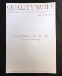 Informationsavtal - Quality Smile