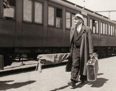 Erik Salvén lämnar 1954 Hembygdskören för att flytta till Stockholm