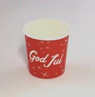 Bägare 12cl God Jul papper 25/fp