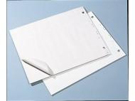 Blädderblock 55x75cm olinj-linj/rut.