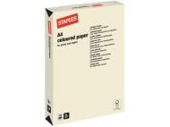 Kopieringspapper STAPLES A4 80g Creme 500/FP