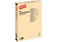 Kopieringspapper STAPLES A4 80g Vanilj 500/FP