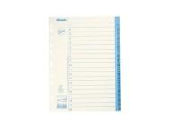 Pappersregister JOPA A4 1-20 vit/blå