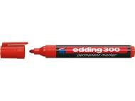 Märkpenna EDDING 300 röd/svart