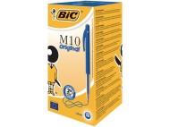 Kulpenna BIC Clic M10 1,0 blå