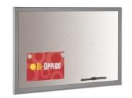 Whiteboard silverboard 90x60cm