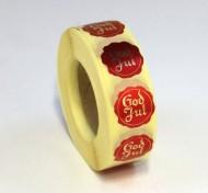 Sigill dekal 20mm Guld 1000/fp