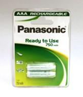 Batteri LR 3-AAA laddningsbar 2-p