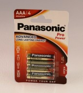 Batteri Panasonic LR 03-AAA pro power