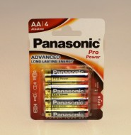 Batteri Panasonic LR 6-AA pro power