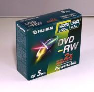 Brännskiva DVD-RW 4,7Gb Fujufilm 5/fp