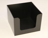 Servetthållare 24x24cm svart