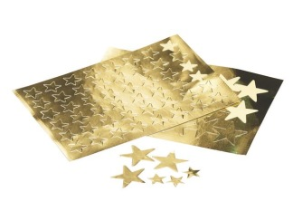 Etiketter stjärnor 13mm 288/fp