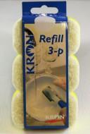 Diskborste refill 3-pack
