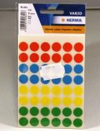 Etikett färgsignal 4 färg 12mm 240/st