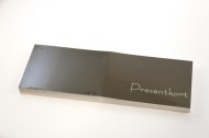 Presentkort 14,9x10cm 50/fp