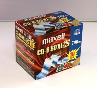 Brännskiva CD-R 80 XL-S 10/fp