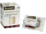 Kontorstejp SCOTCH 550 Singelpack
