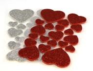 Stickers Hjärtan 40/fp