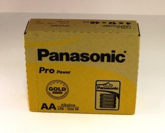 Batteri Panasonic LR 6-AA pro power - 4/fp