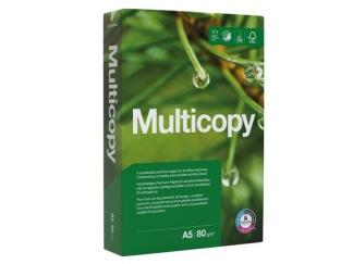Kopieringspapper MULTICOPY A5 80g OHÅLAT 500/FP