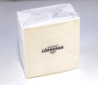 Servett 24cm 2-lag Löfbergs Lila