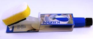 Diskborste med svamp påfyllningsbar