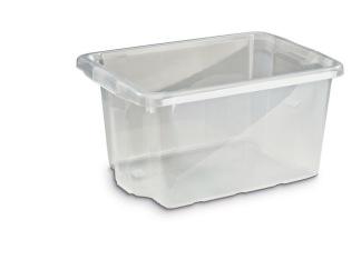 Förvaringsbox 33L Silver
