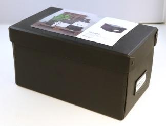 Förvaringsbox Telma grafit