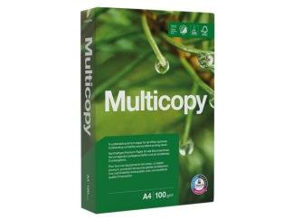 Kopieringspapper MULTICOPY A4 100g OHÅLAT 500ark