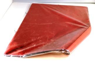 Foliepåse röd MED tejpremsa