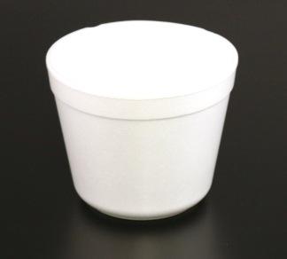 Bägare 57cl termo för soppa vit