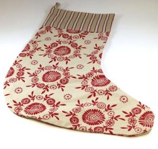 Julstrumpa textil Linum - Motiv 1
