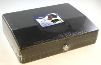 Kassaskrin 305x230x95mm blå/svart
