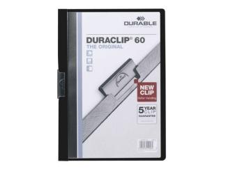 Klämmapp Duraclip 2200 A4 3mm svart
