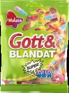 Gott&Blandat supersur 130g