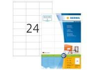 Etikett HERMA Premium 70x36mm 2400/fp