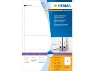 Etikett HERMA pärm vit 192x61mm 400/FP