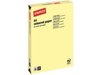 Kopieringspapper A4 120g Ljusgul 250/FP