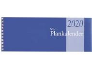 Stor Plankalender, spiralbunden 2020