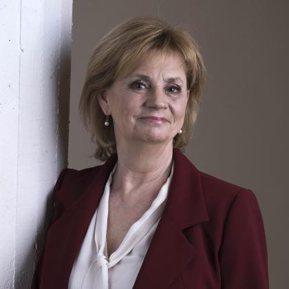 Marianne Rundström, programledare.