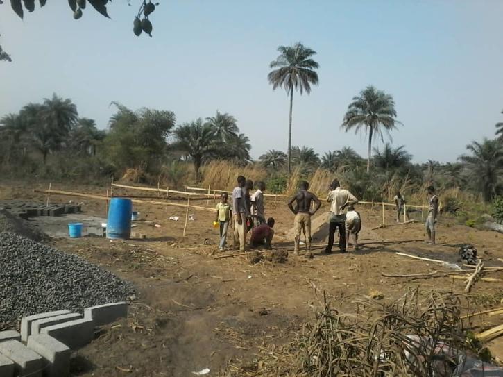 Här kommer förskolan att placeras, snart dags att börja gräva på platsen!